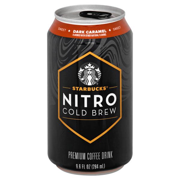 Save on Starbuck's Nitro Cold Brew Dark Caramel Coffee ...