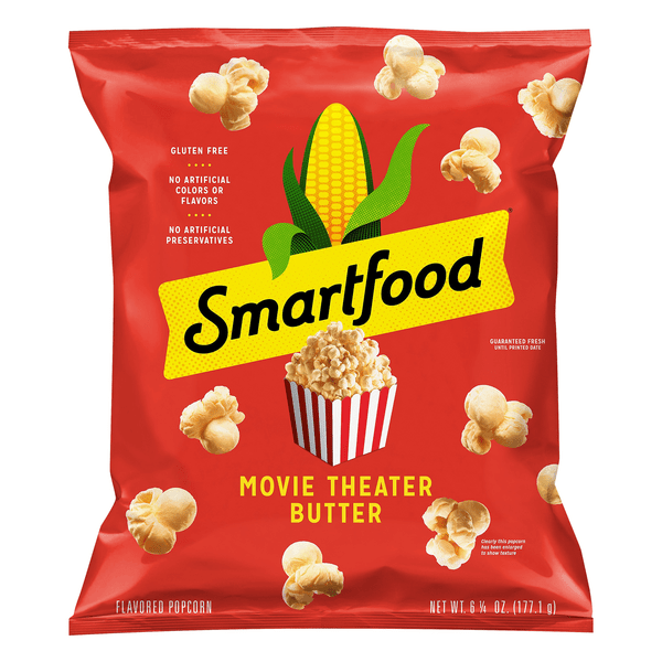 smartfood popcorn movie theater butter gluten free