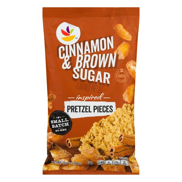 Save on Giant Pretzel Pieces Cinnamon & Brown Sugar ...
