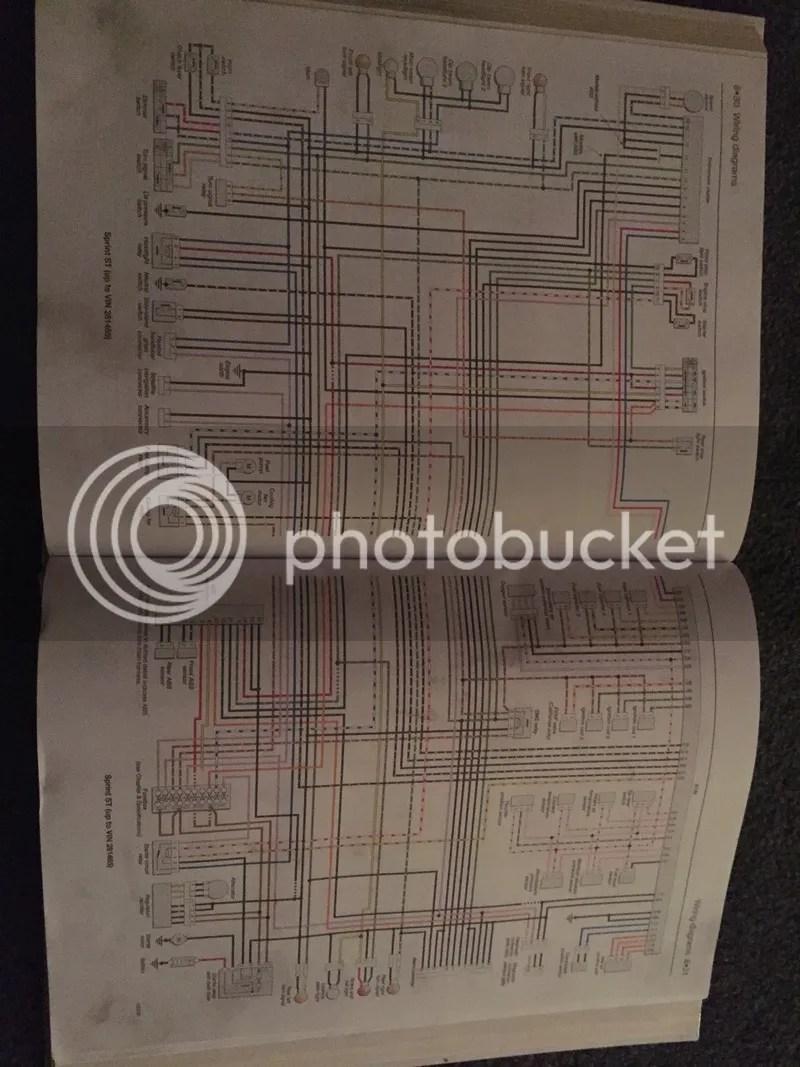 medium resolution of triumph sprint st wiring diagram wiring librarysunday 5th april 2015