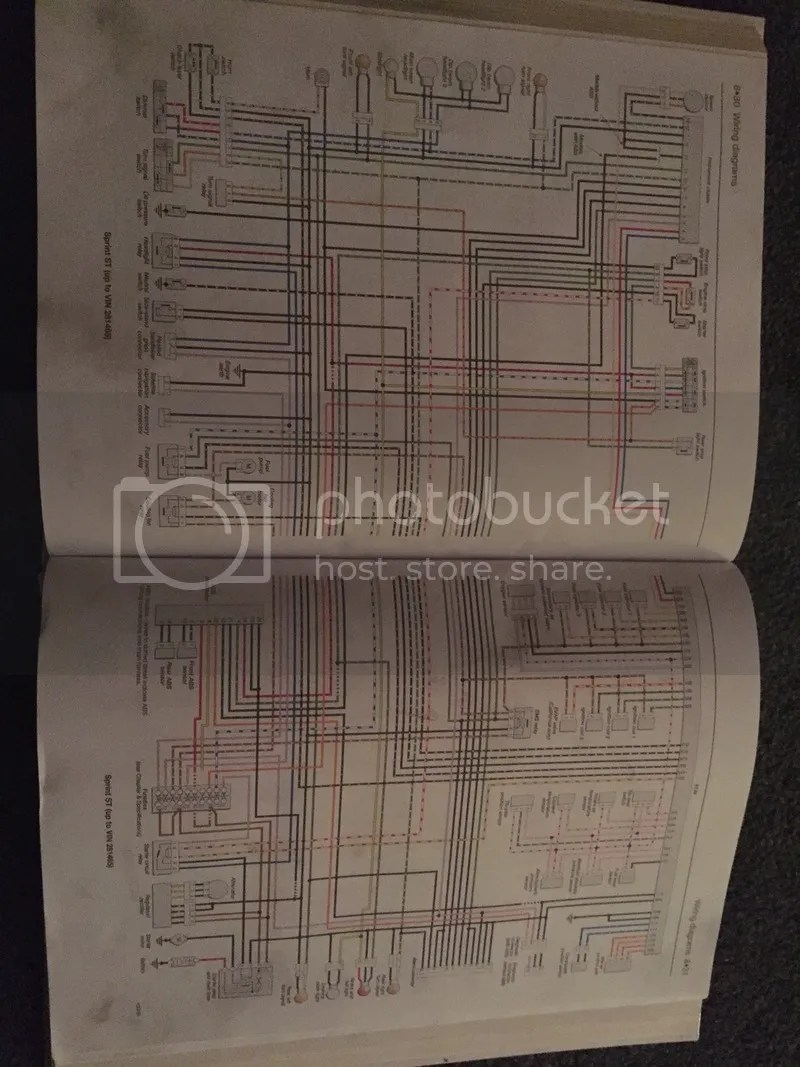 hight resolution of triumph sprint st wiring diagram wiring librarysunday 5th april 2015