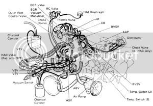 22R, 22RE, 22RTE Vacuum Diagrams  Pirate4x4Com : 4x4 and