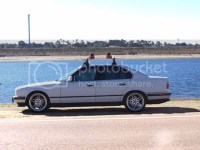 E34 pics with roof rack