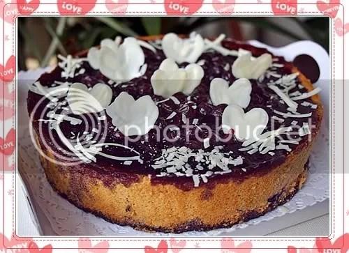 红茶蓝莓乳酪蛋糕
