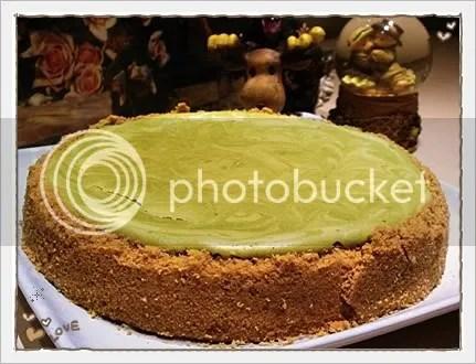 绿茶大理石芝士蛋糕