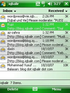 Gmail in PDA