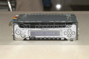 Pioneer DEH1650 MOSFET 50Wx4 4Channel HighPower CD