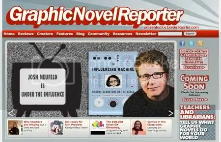 Graphic Novel Reporter