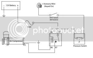 Need help wiring Air lift pressor  Ford F150 Forum