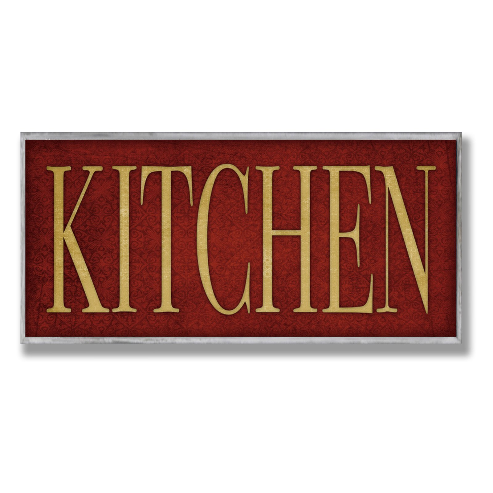 kitchen plaques anti fatigue mat the stupell home decor collection red wall plaque