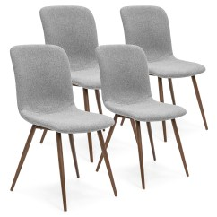 Cloth Dining Room Chairs Folding Knee Chair Fabric Best Choice Products Set Of 4 Mid Century Modern W