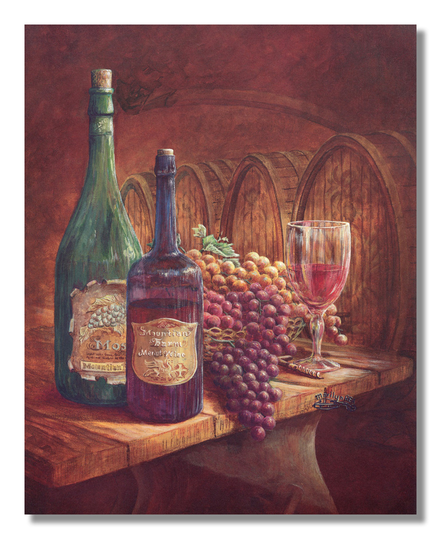 grapes and wine kitchen decor faucet single handle grape red tuscan contemporary wall picture 8x10 art print