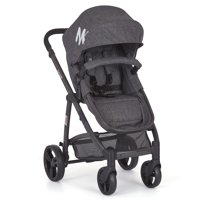 mia moda high chair pink folding wall rack lightweight strollers walmart com product image marisa three in one stroller grey