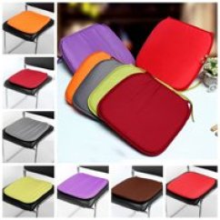 Cheap Seat Cushions For Chairs Lawn Chair Outdoor Walmart Com Product Image Multi Colors Soft Comfort Sit Mat Indoor Pads Cushion Garden