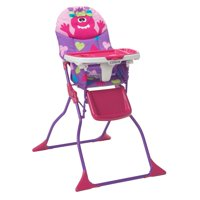 baby eating chair kids office high chairs boosters walmart com product image cosco simple fold deluxe monster shelley
