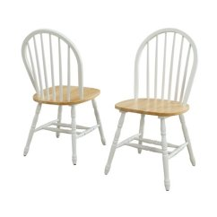 Solid Wood Chairs Folding Beach Better Homes And Gardens Autumn Lane Windsor Dining Set Of 2