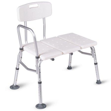 stool chair adjustable reupholster dining costway shower bath seat medical bathroom tub transfer bench walmart com