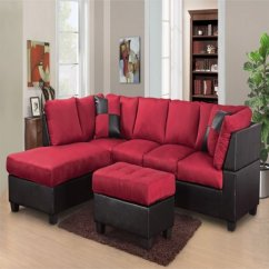 Microfiber Fabric Sofa Most Comfortable 2017 Master Furniture Sectional Modern Faux Leather 3pc 6 Color Walmart Com