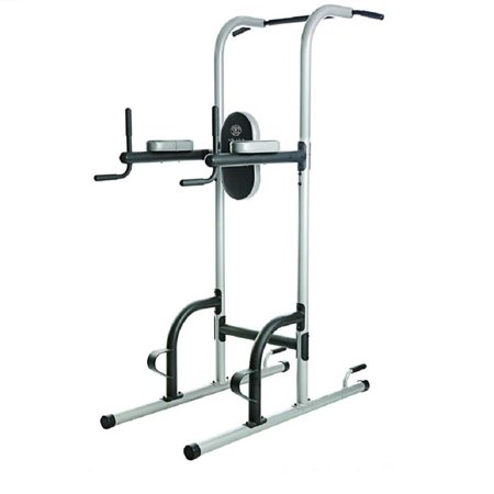 captains chair gym machine best baby rocking 2018 gold s xr 10 9 power tower with push up pull and dip stations walmart com