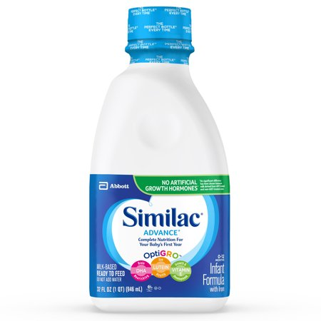 Similac Advance Infant Formula with Iron Ready to Feed 1 ...