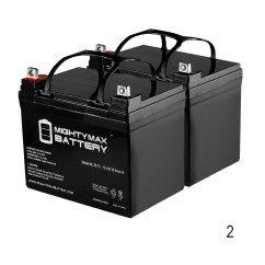 Wheel Chair Batteries Country Rocking Chairs Wheelchair 12v 35ah Scooter Battery Replaces 33ah Ps33 12d 2 Pack