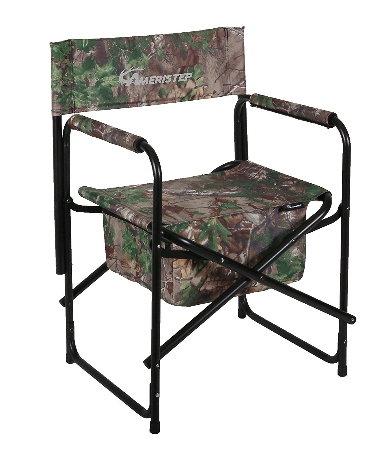 portable hunting chair toddler beach personalized chairs director heavy duty outdoor polyester camo