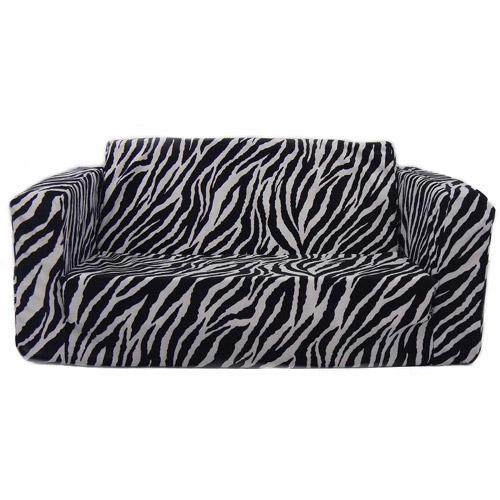 frozen flip sofa canada american made sofas leather kids toddler zebra