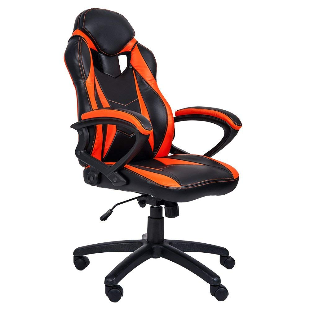 ergonomic chair replacement parts two seat garden table and chairs merax high back gaming office racing style computer