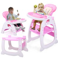 baby chair seat hanging hardware lowes high chairs boosters walmart com product image jaxpety table 3 in 1 convertible play booster toddler with tray