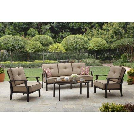 hawthorne oversized sling chairs ethan allen recliners better homes and gardens carter hills outdoor conversation set walmart com