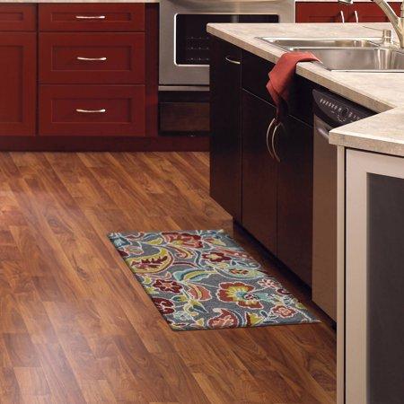memory foam kitchen mats counter tops mohawk home jacobean curls mat walmart com