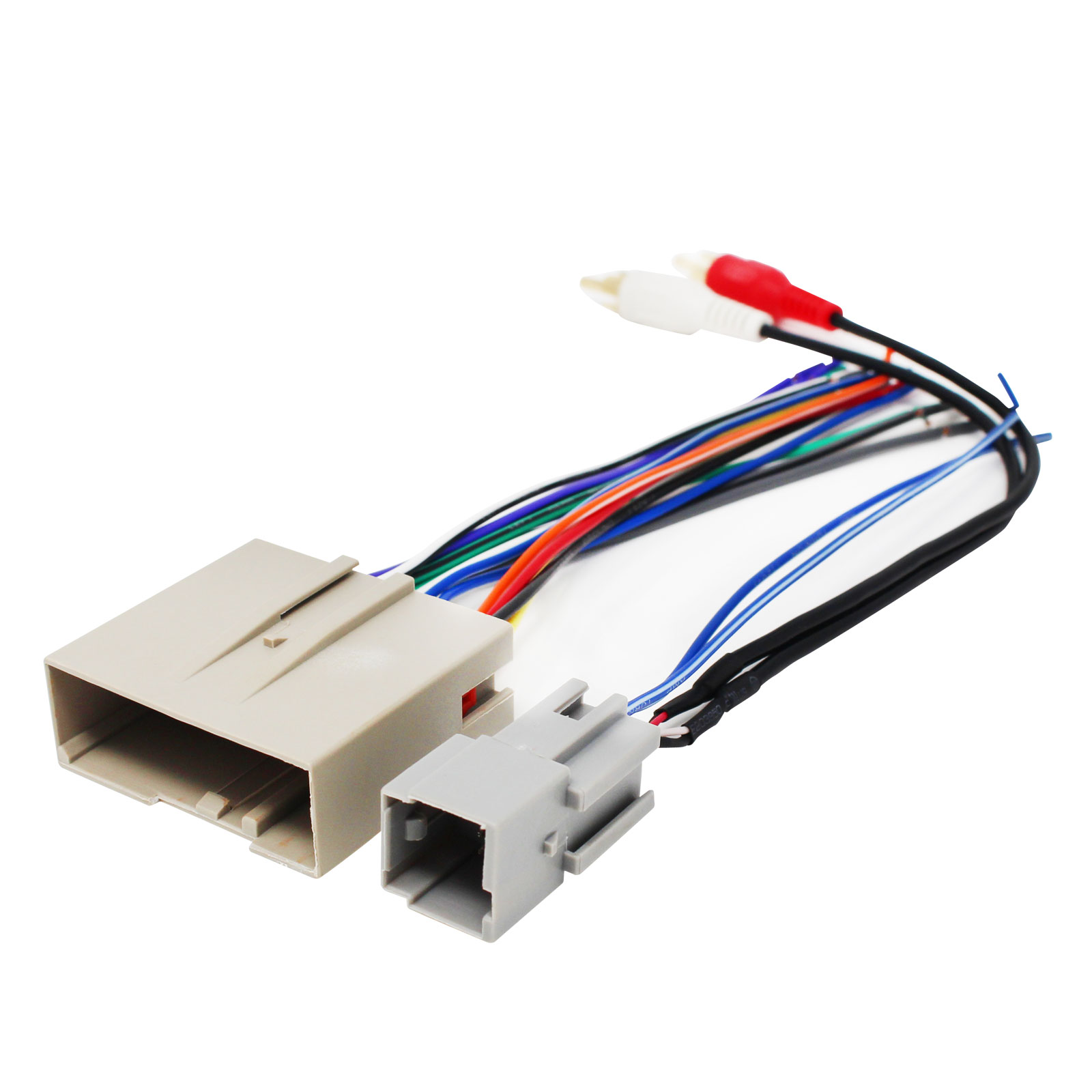 hight resolution of ford stereo wiring harnessreplacement radio wiring harness for 2004 ford f 150 lariat crew cab pickup