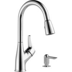 Kitchen Faucets Cheap Mobile Pantry Walmart Com Product Image Peerless Chrome Pulldown Faucet