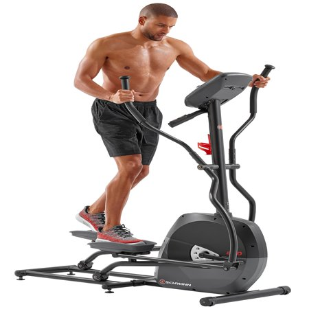 Schwinn A40 HR Enabled Elliptical Trainer with 7 Programs and 8 Levels of Resistance