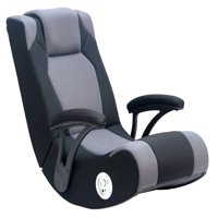 video game chair with cup holder slipcovers near me gaming chairs walmart com product image x rocker pro 200 sound enhancement features