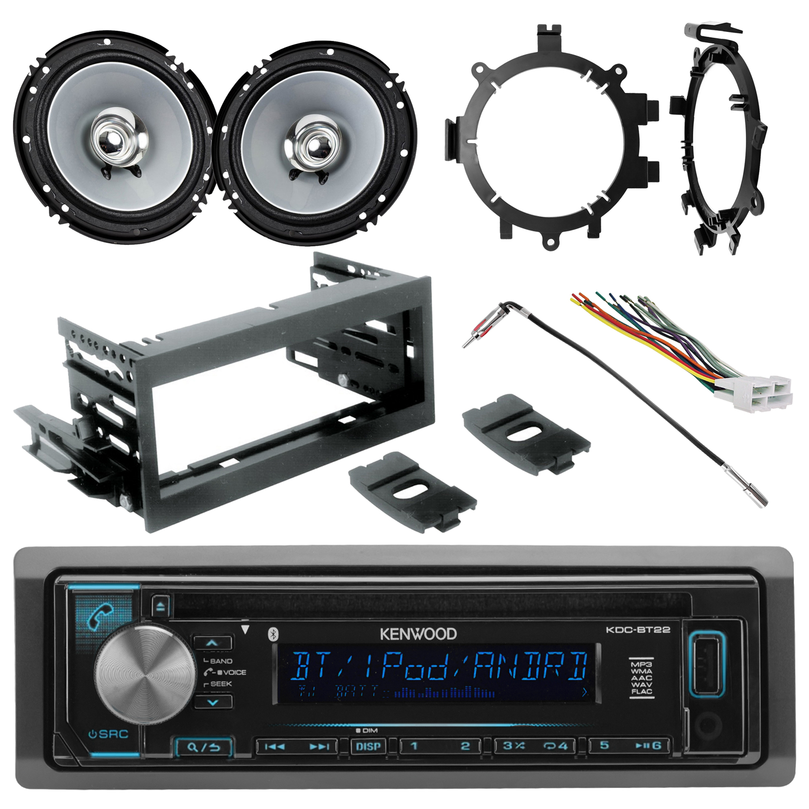 radio wiring diagram for 1995 chevy silverado a two way dimmer switch gm stereo wires kenwood single din aux usb am fm cd bluetooth 2x 6 5 sport