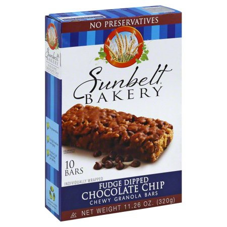 Sunbelt Bakery Family Pack Fudge Dipped Chocolate Chip