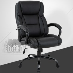 Big And Tall Desk Chairs Joe At Walmart Office High Back Chair Ergonomic Pu Task Executive Rolling