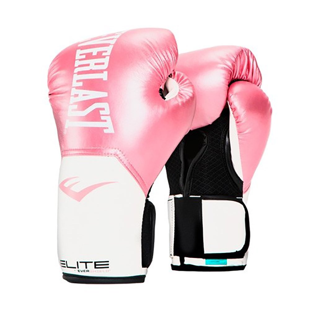 Everlast elite pro style leather training boxing gloves size ounces pink also rh walmart