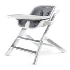 First High Chair Invented Grey Recliner Cover Chairs Boosters Walmart Com Product Image 4moms With Magnetic Tray White
