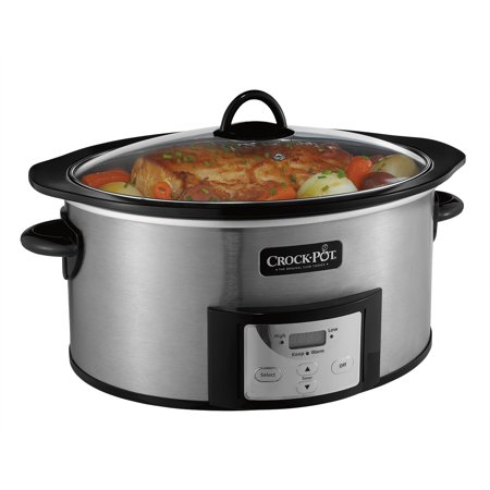kitchen crock sink farmhouse style pot programmable slow cooker with stovetop safe cooking 6 quart