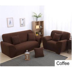 Rv Couch And Chair Covers Chairs For Small Living Rooms Sofa Plastic Stretch 1 2 3 4 Seats Solid Color Loveseat