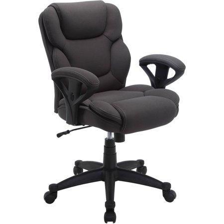 desk chair tall best beach serta mesh fabric big and swivel manager office multiple colors walmart com