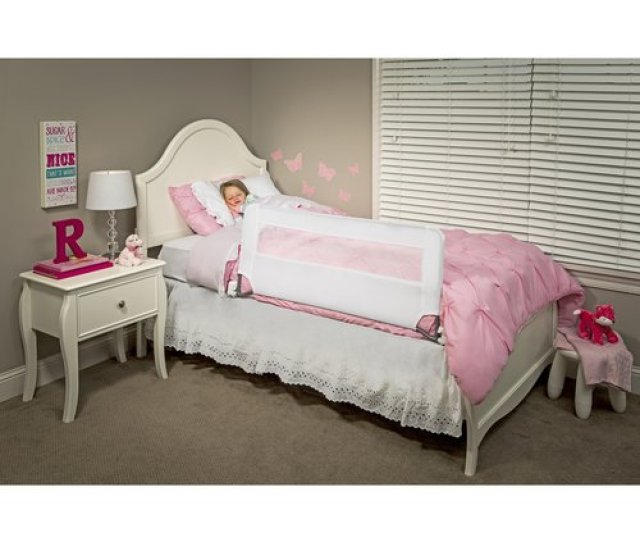 Regalo Guardian Swing Down Safety Bed Rail  Inches Long