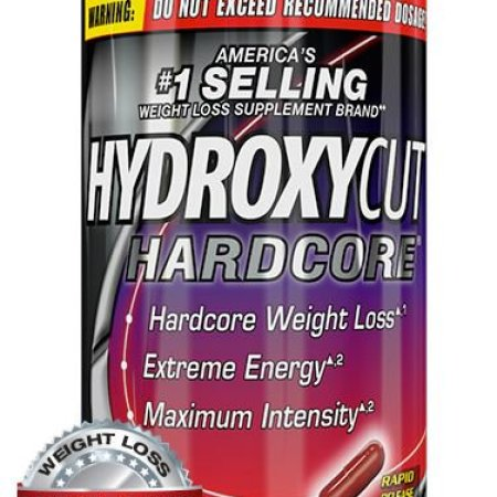 Hydroxycut Hardcore Fast Acting Energy & Weight Loss Pills ...