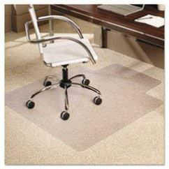 Carpet Chair Mats Covers For Weddings Ebay Es Robbins Everlife 36 X 48 Mat Low Pile Rectangular With Lip