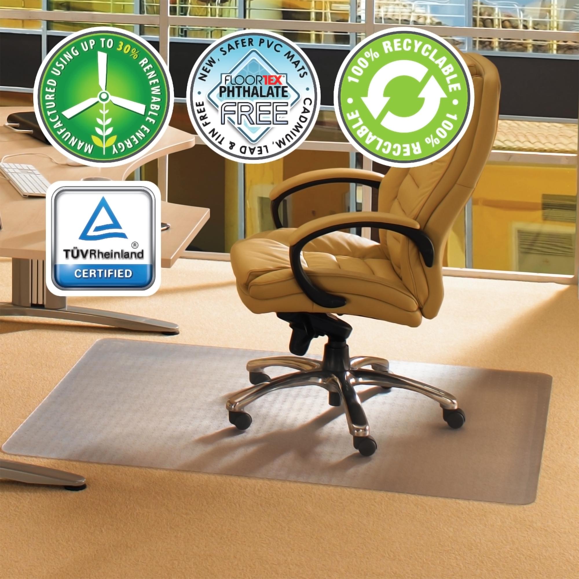 chair mats for carpet flex one folding cleartex advantagemat mat carpets 1 4 or less