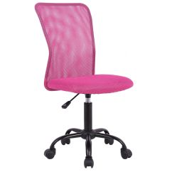 Desk Chair Pink Stryker 5050 Stretcher Chairs Office Computer Middle Back Task Swivel Seat Ergonomic
