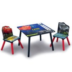 Children Table And Chairs Discount Directors Toddler Tables Walmart Com Product Image Disney Pixar Cars Kids Wood Chair Set By Delta