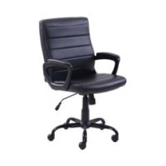 Leather Desk Chairs Lego Table And Toys R Us Office Walmart Com Product Image Mainstays Bonded Mid Back Manager S Chair Adjustable Multiple Colors